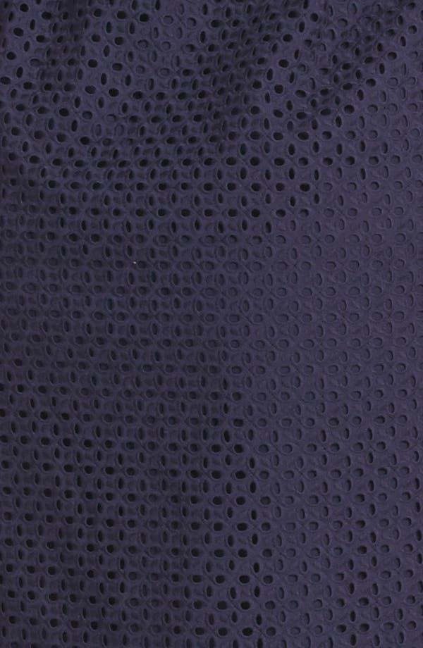 Alternate Image 3  - DKNYC Eyelet Shirtdress