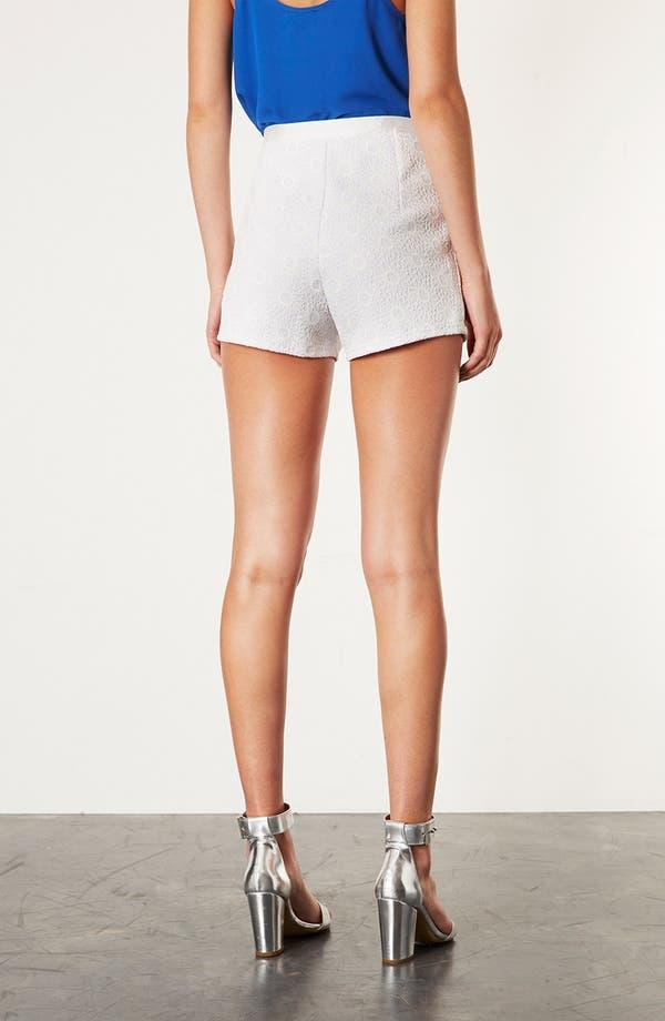 Alternate Image 2  - Topshop 'Lola' Lace Shorts