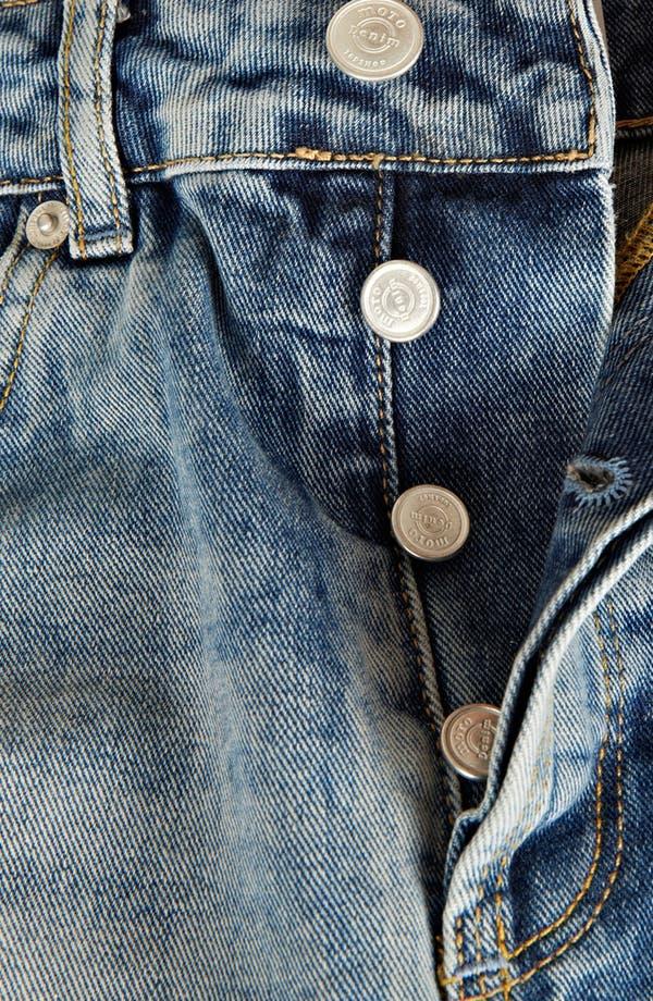 Alternate Image 3  - Topshop Moto 'Ruthie' Denim Shorts (Petite)
