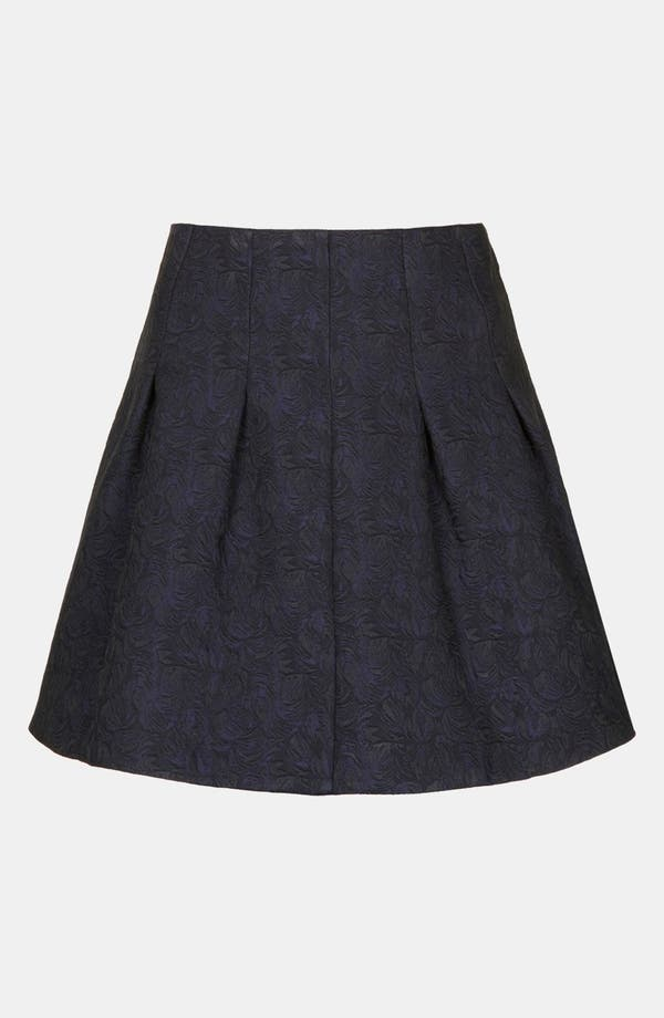 Alternate Image 3  - Topshop 'Lexie' Jacquard Full Skirt