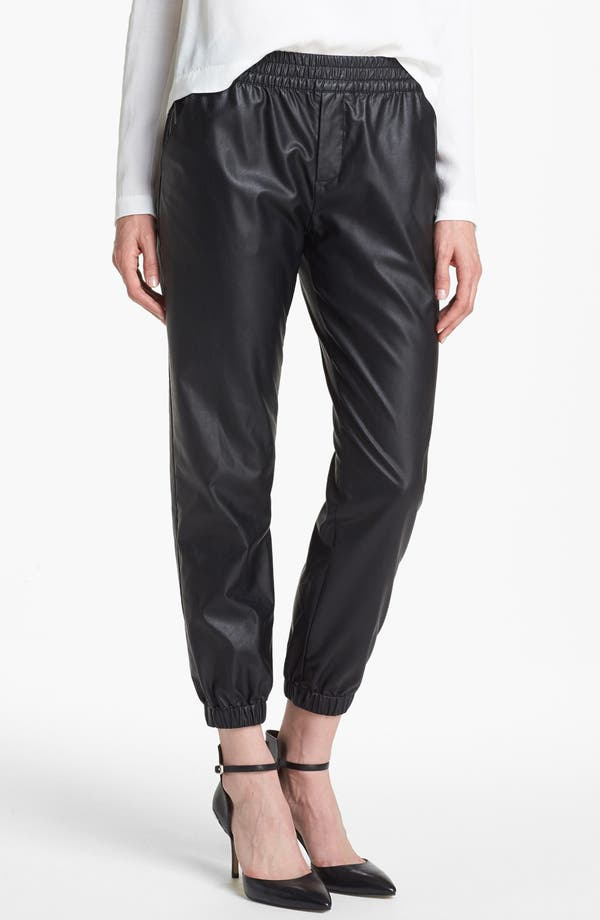 Alternate Image 1 Selected - Piper Faux Leather Track Pants