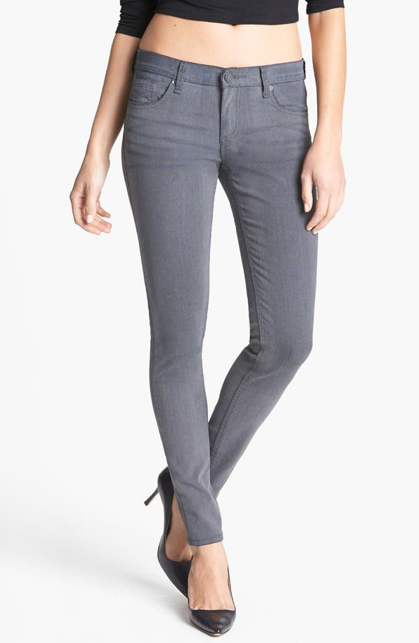 Main Image - edyson Coated Skinny Jeans