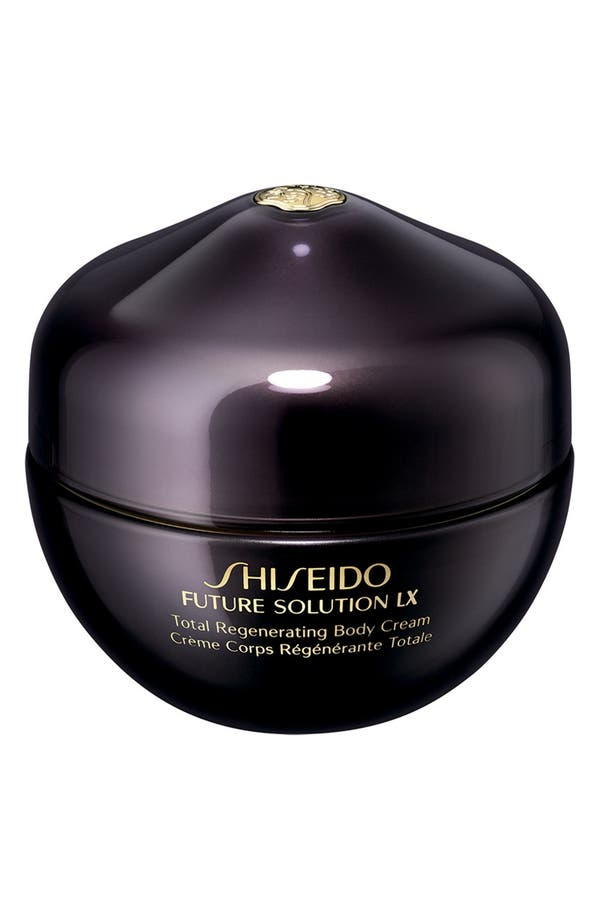 Alternate Image 1 Selected - Shiseido 'Future Solution LX' Total Regenerating Body Cream