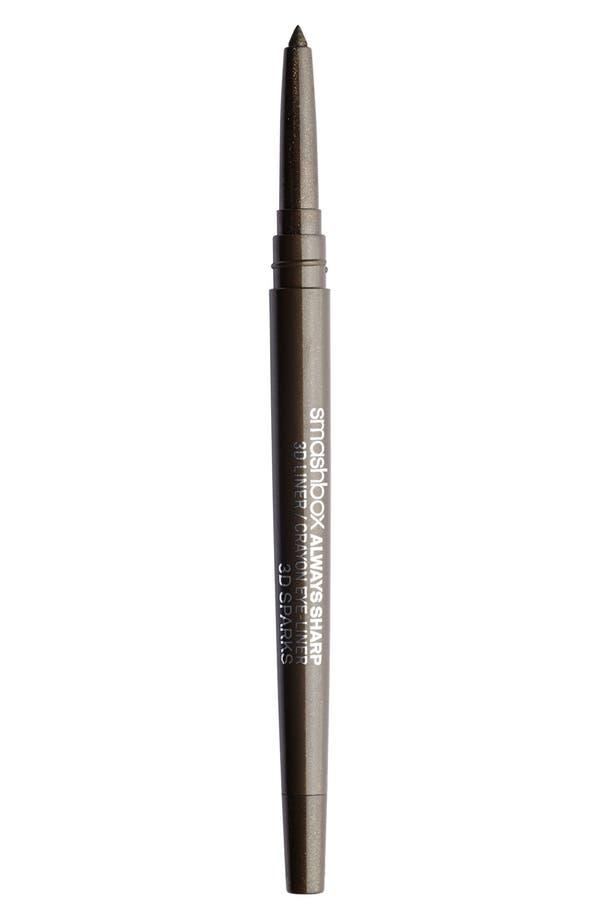 Always Sharp 3D Eyeliner,                         Main,                         color, 3D Sparks