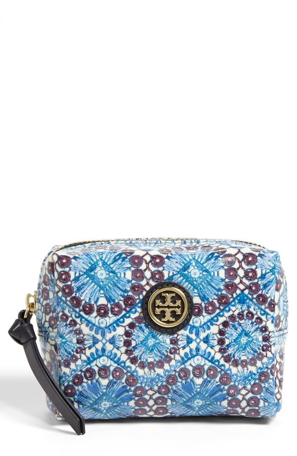 Main Image - Tory Burch 'Brigitte - Tiny' Cosmetics Case