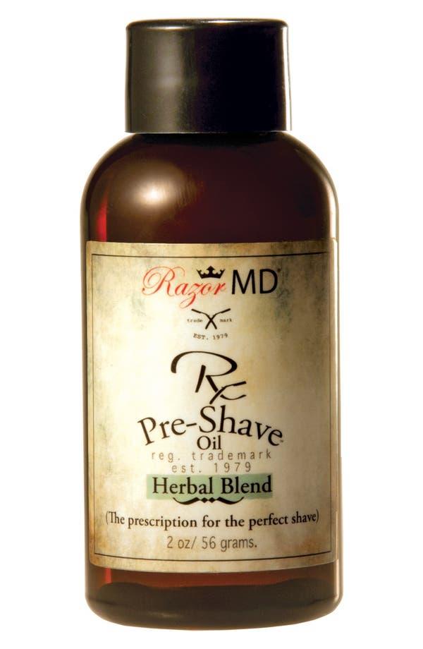 Alternate Image 1 Selected - Razor MD® 'Herbal Blend' Rx Pre-Shave Oil