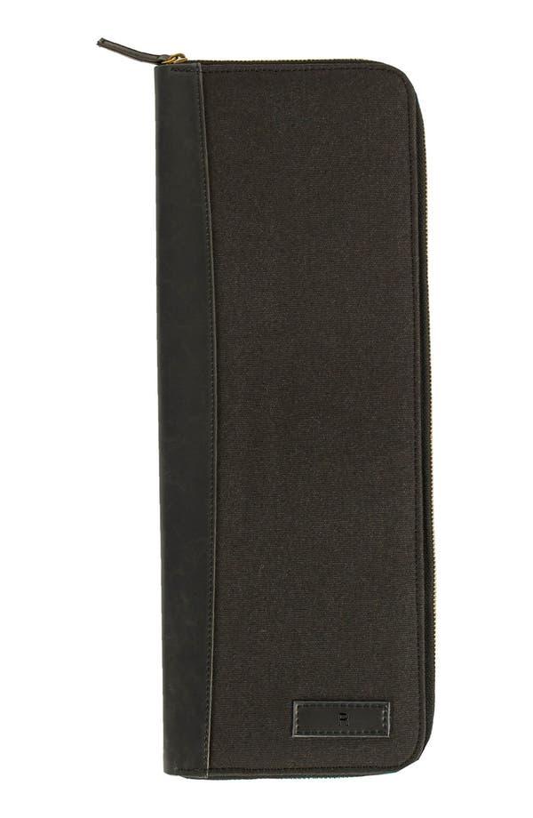 Monogram Tie Case,                         Main,                         color, Black-R