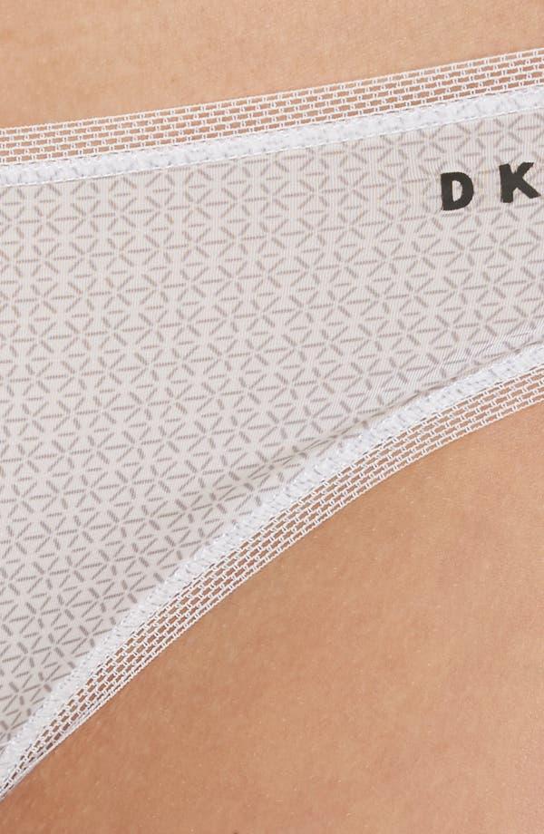 Low Rise Bikini,                             Alternate thumbnail 6, color,                             White Diamond Dash