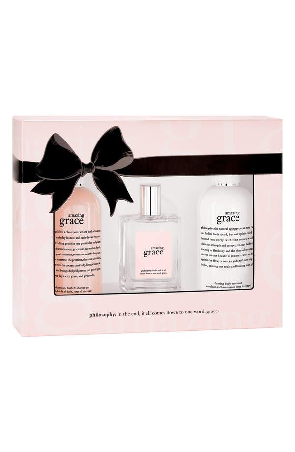 Main Image - philosophy 'amazing grace' eau de toilette layering set (Limited Edition) ($88 Value)
