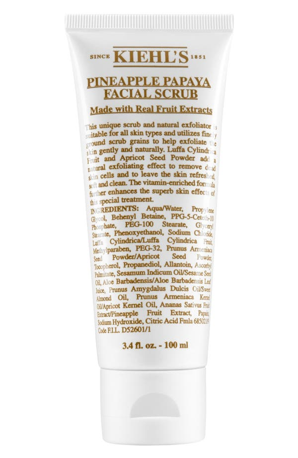 Main Image - Kiehl's Since 1851 Pineapple Papaya Facial Scrub