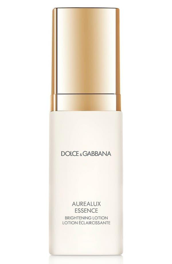 Dolce&GabbanaBeauty 'Aurealux' Essence Brightening Lotion,                             Main thumbnail 1, color,                             No Color