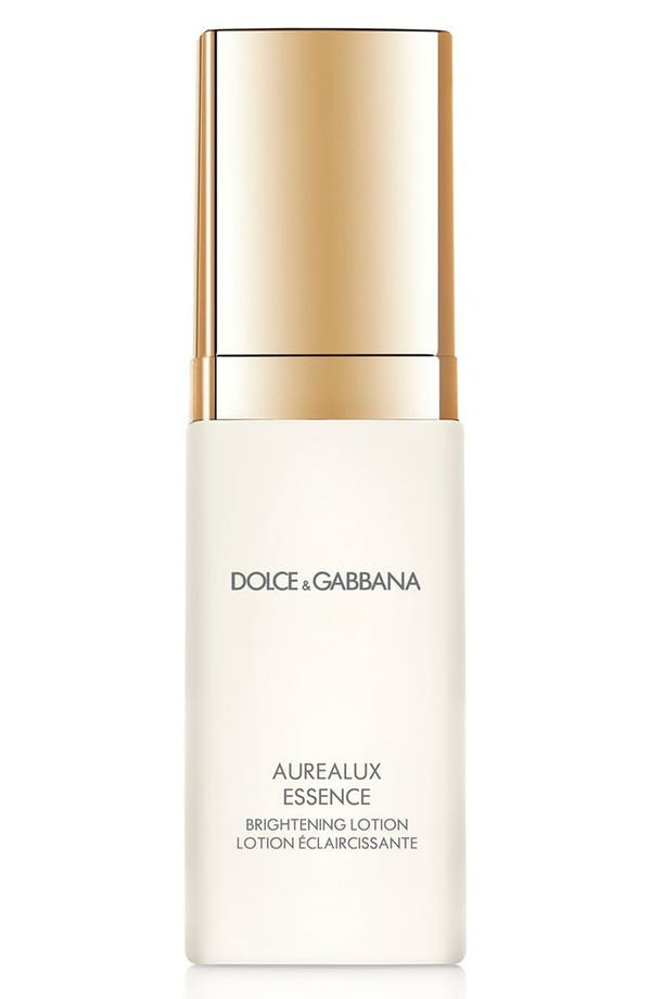 Main Image - Dolce&GabbanaBeauty 'Aurealux' Essence Brightening Lotion