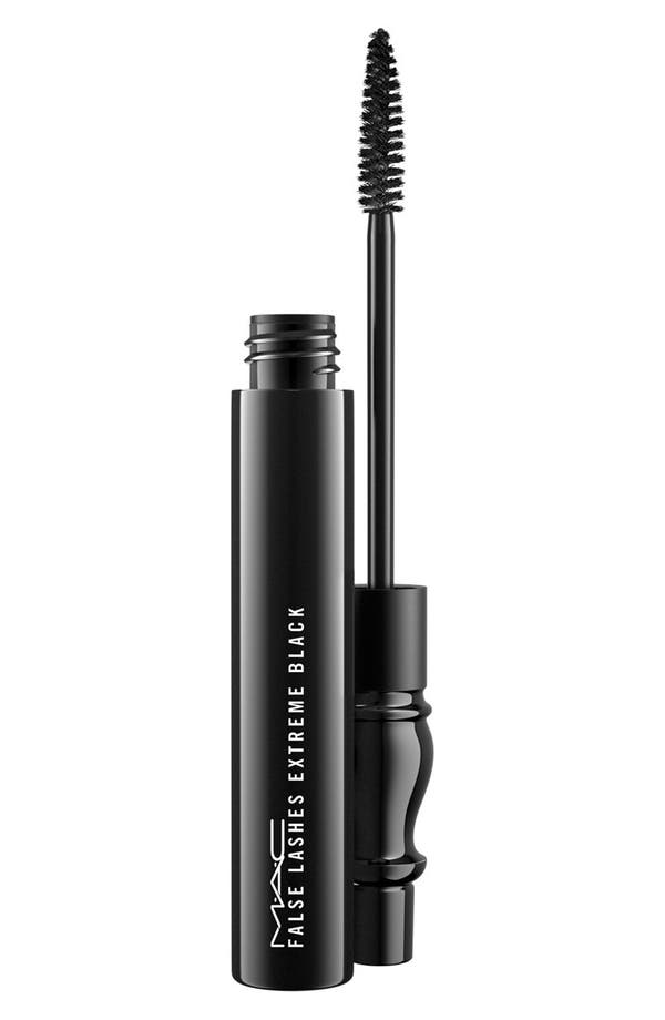 Alternate Image 1 Selected - MAC False Lashes Extreme Black Mascara