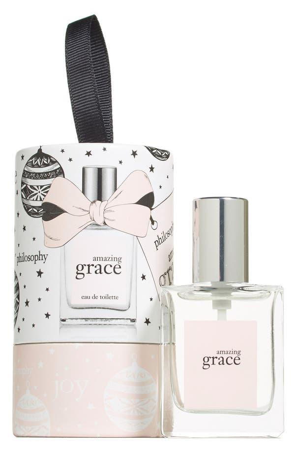 Main Image - philosophy 'amazing grace' eau de toilette ornament (Limited Edition)