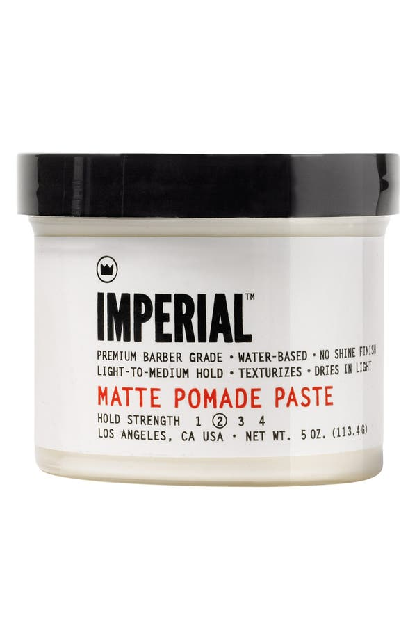 Matte Pomade Paste,                         Main,                         color, No Color