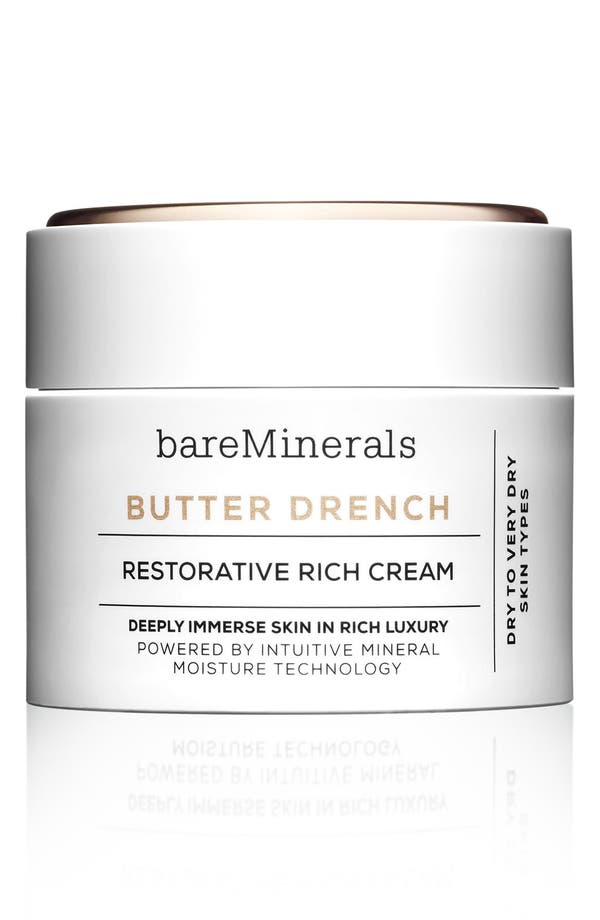 bareMinerals Butter Drench<sup>™</sup> Restorative Rich Cream,                             Main thumbnail 1, color,                             No Color