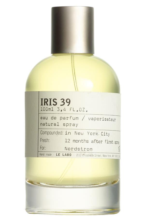 Alternate Image 1 Selected - Le Labo 'Iris 39' Eau de Parfum