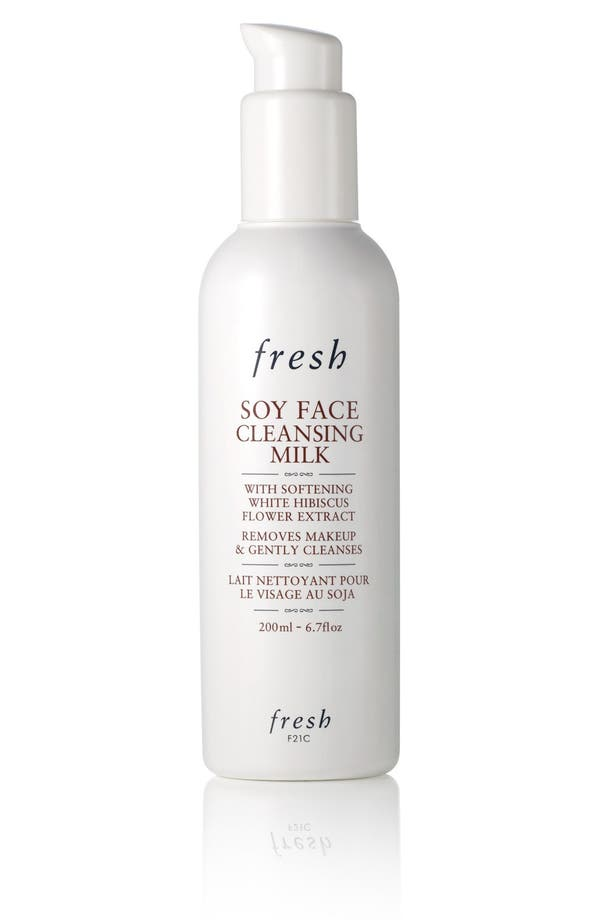 Soy Face Cleansing Milk,                         Main,                         color, No Color