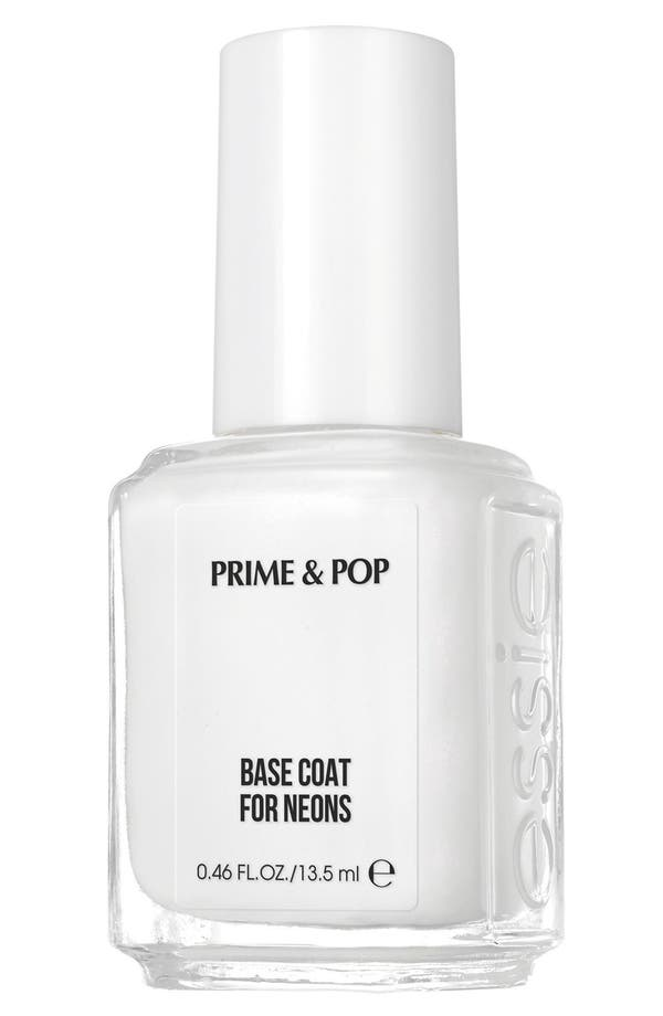 Alternate Image 1 Selected - essie® 'Prime & Pop' Base Coat