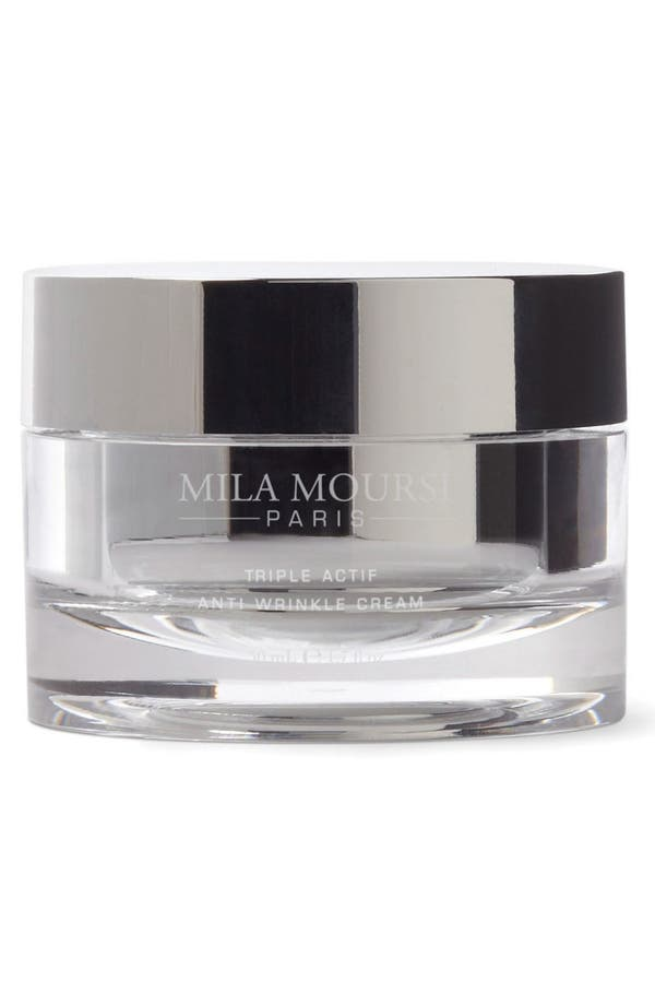 SPACE.NK.apothecary Mila Moursi Triple Actif Anti-Wrinkle Cream,                         Main,                         color, No Color