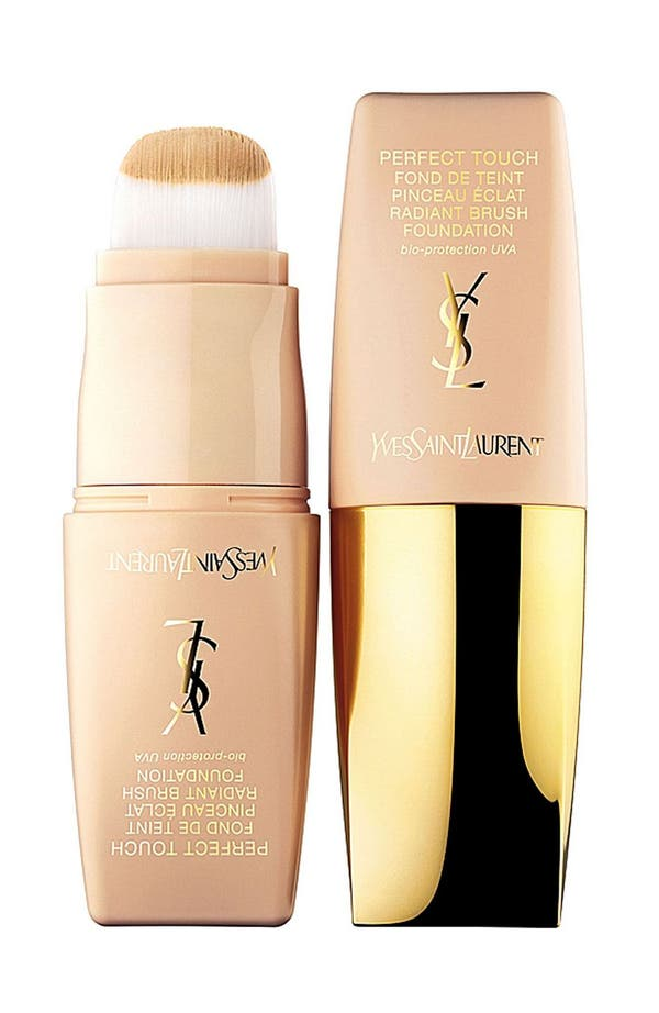 Alternate Image 1 Selected - Yves Saint Laurent 'Perfect Touch' Radiant Brush Foundation