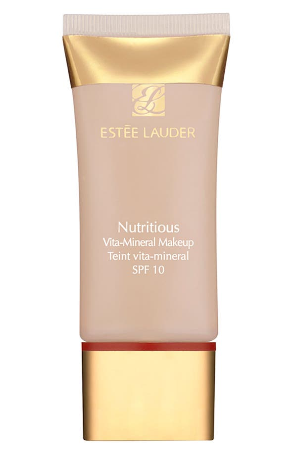 Alternate Image 1 Selected - Estée Lauder 'Nutritious' Vita-Mineral Liquid Foundation SPF 10