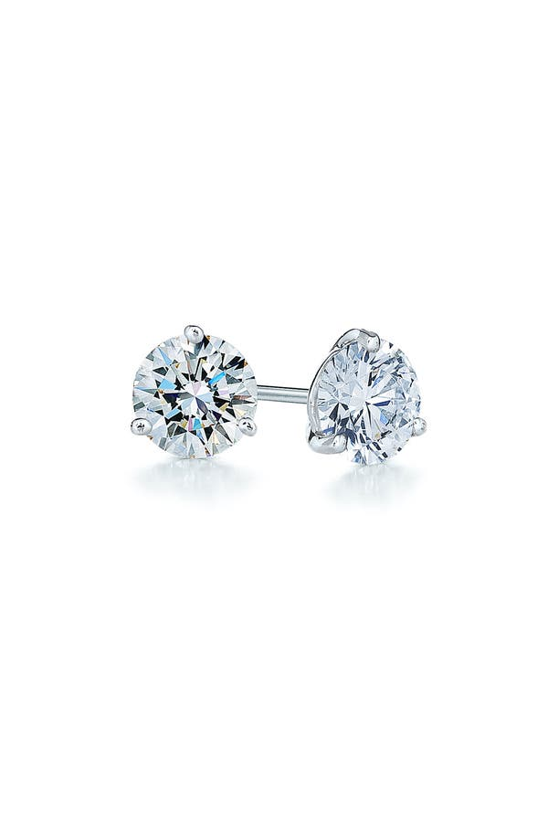 Alternate Image 1 Selected - Kwiat 0.33ct tw Diamond & Platinum Stud Earrings