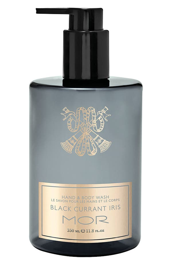 Alternate Image 1 Selected - MOR Black Currant Iris Hand & Body Wash