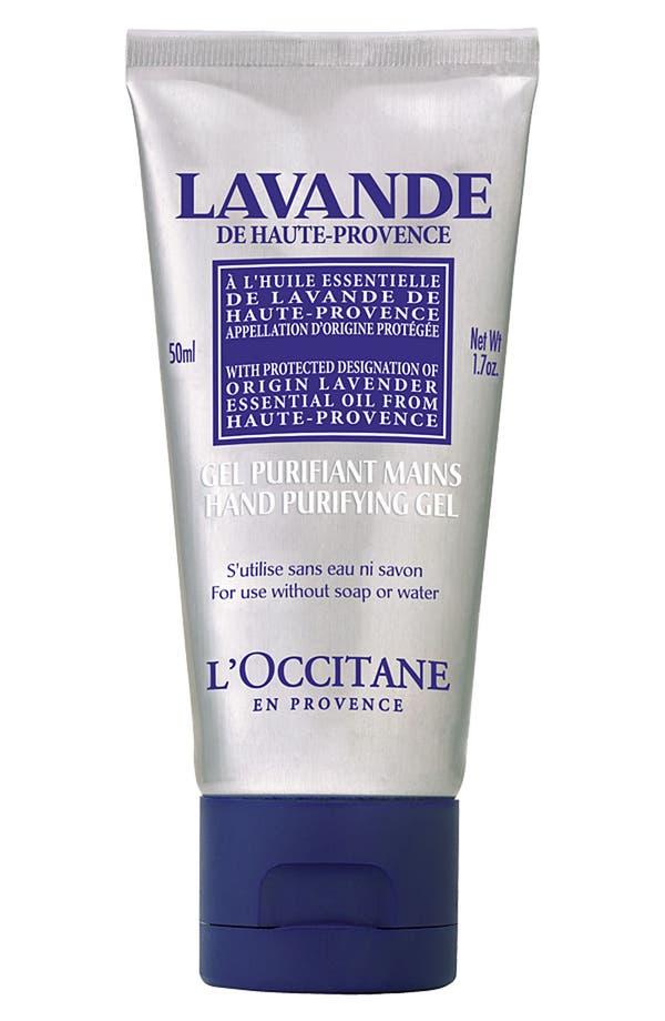 Main Image - L'Occitane Lavender Hand Purifying Gel