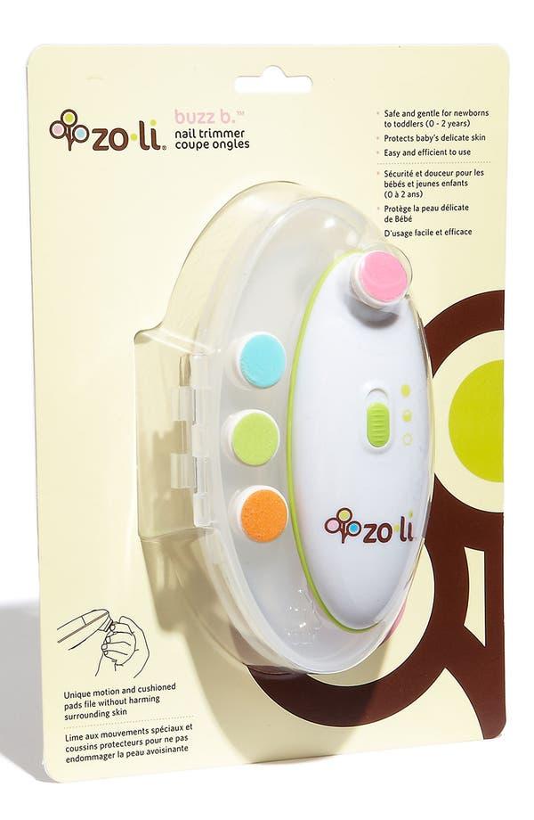 Alternate Image 2  - ZoLi 'BUZZ B.™' Electric Nail Trimmer