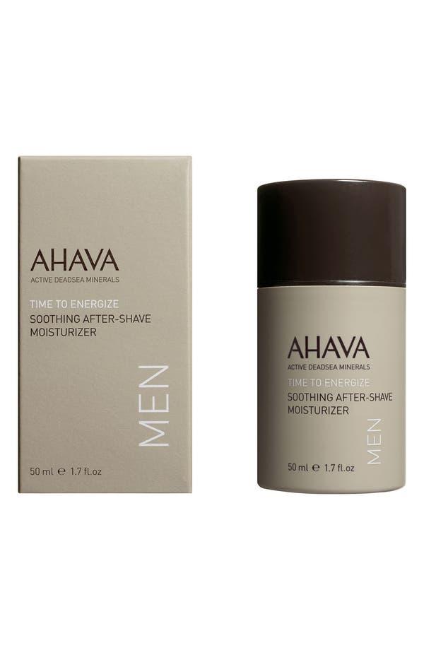 Alternate Image 1 Selected - AHAVA MEN Soothing After Shave Moisturizer