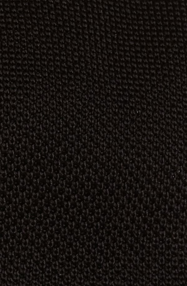 Alternate Image 2  - Samuelsohn Solid Knit Tie