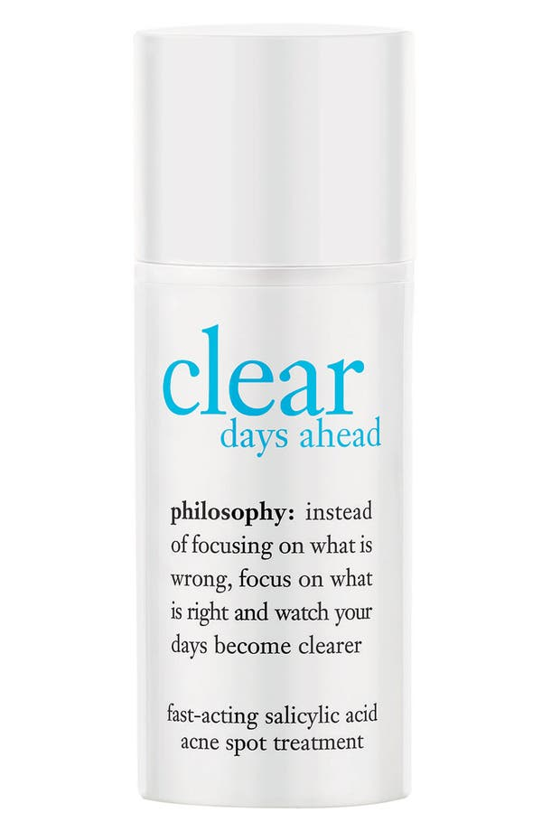 Alternate Image 1 Selected - philosophy 'clear days ahead' fast-acting acne spot treatment