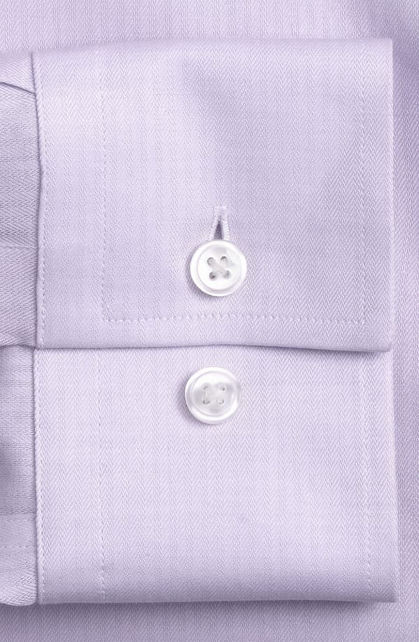 Alternate Image 2  - BOSS 'Jenno' Slim Fit Herringbone Dress Shirt