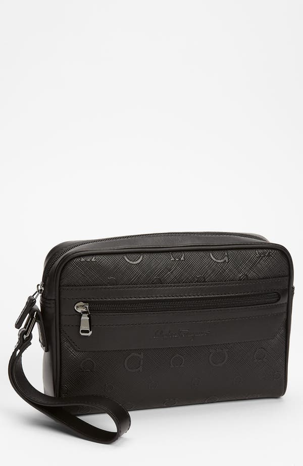 Alternate Image 1 Selected - Salvatore Ferragamo 'Apollo' Toiletry Bag