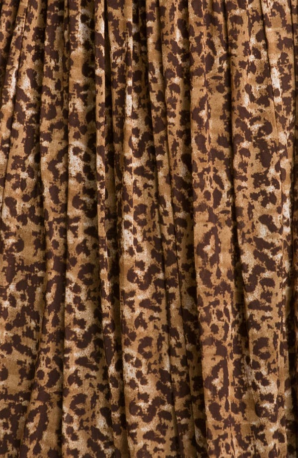 Alternate Image 4  - Vince Camuto 'Textured Spots' Animal Print Skirt (Plus)