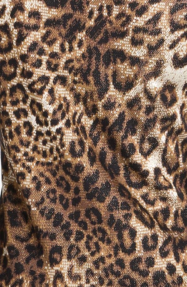 Alternate Image 3  - St. John Collection Cheetah Jacquard Sweater