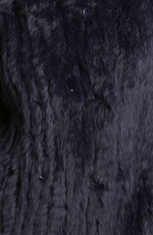 Alternate Image 3  - MARC BY MARC JACOBS 'Katrina' Genuine Rabbit Fur Jacket