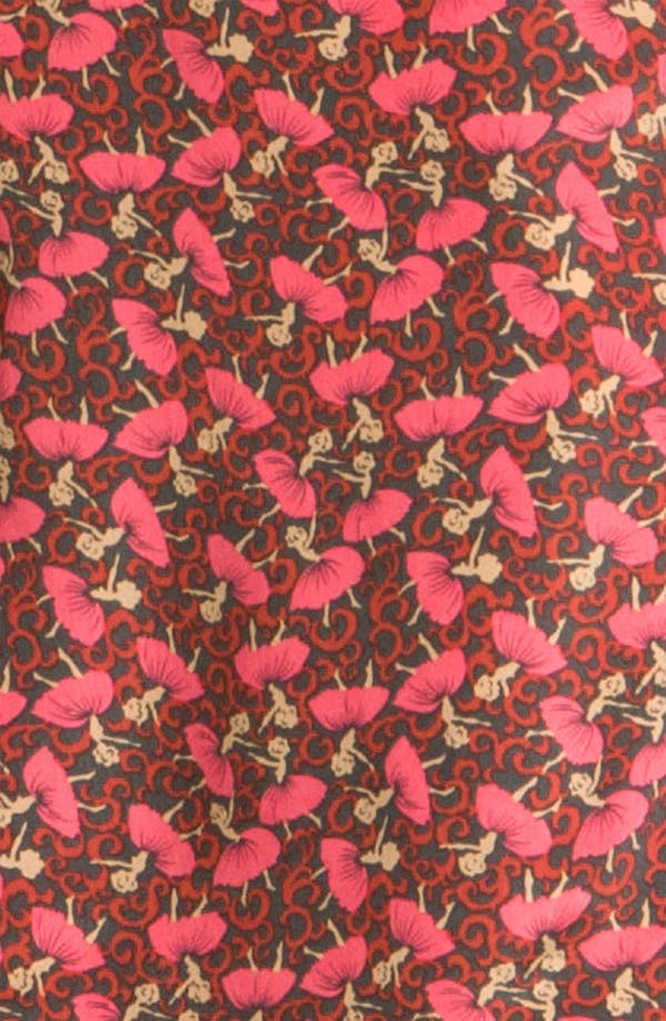 Alternate Image 3  - Ted Baker London 'Dancers' Ditsy Print Silk Shirtdress