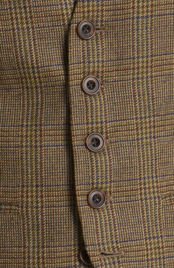 Alternate Image 3  - John W. Nordstrom® Plaid Wool Vest