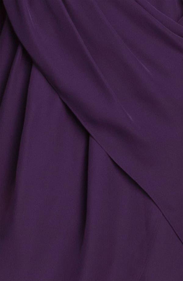 Alternate Image 3  - Donna Morgan Strapless Silk Georgette Blouson Dress