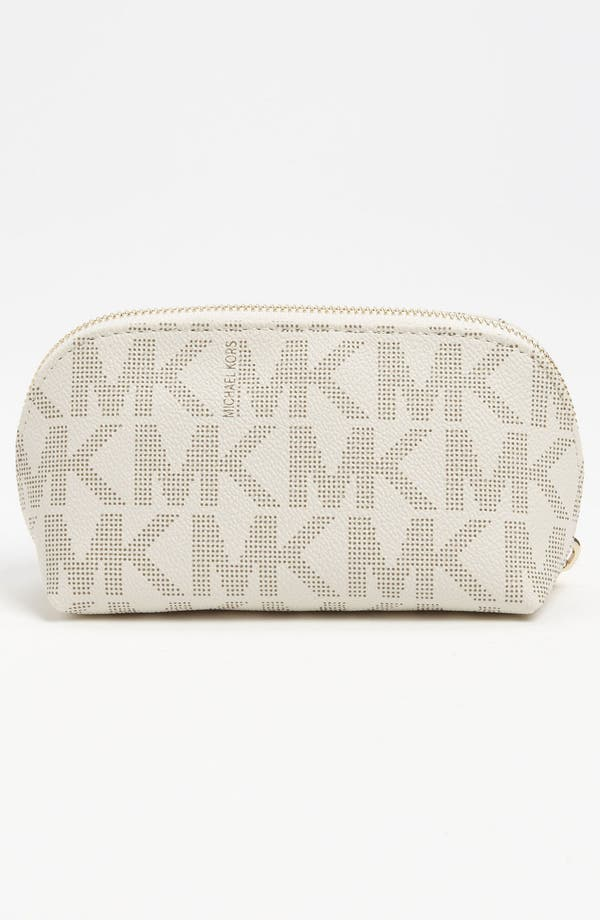 Alternate Image 4  - MICHAEL Michael Kors 'Jet Set Signature - Medium' Cosmetics Case