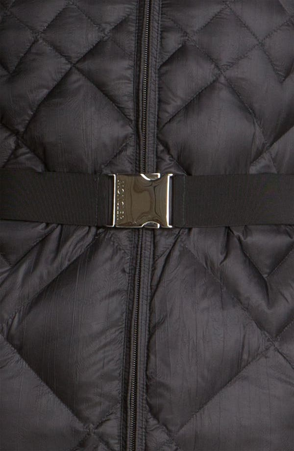 Alternate Image 3  - Moncler 'Bourdon' Quilted Down Jacket