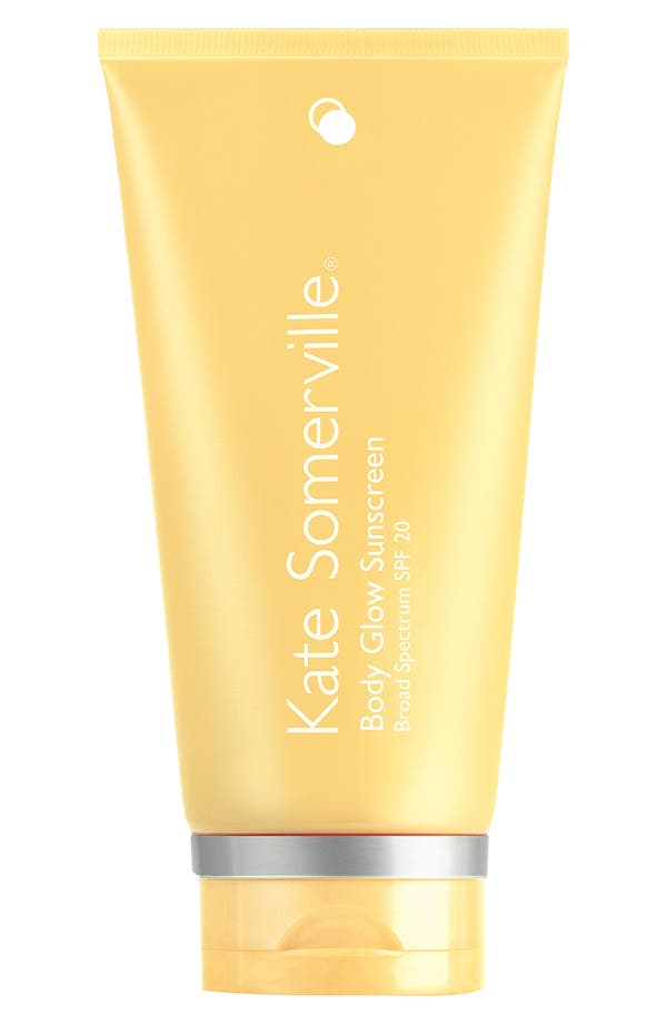 'Body Glow' Sunscreen Broad Spectrum SPF 20,                             Main thumbnail 1, color,                             No Color