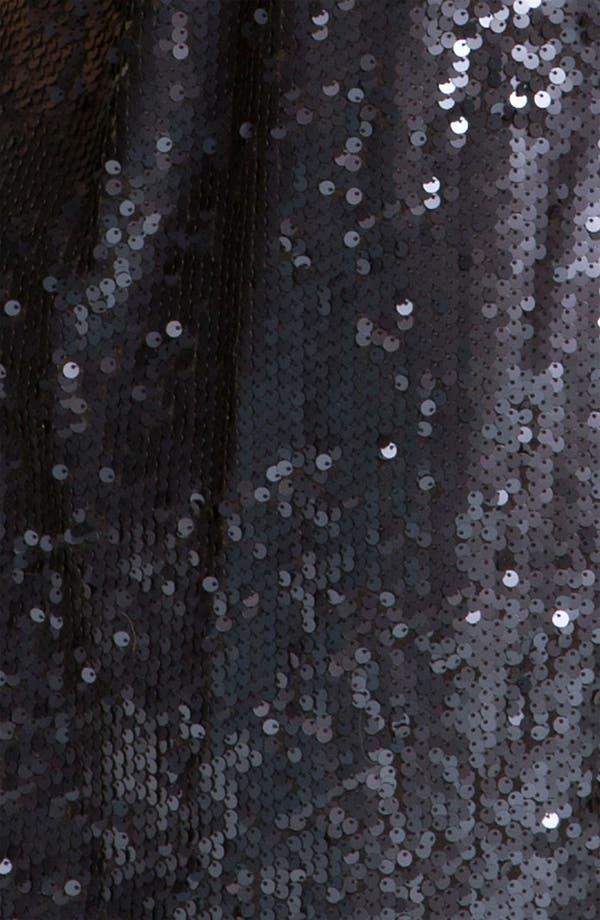 Alternate Image 3  - Aidan Mattox Sequin Cold Shoulder Shift Dress