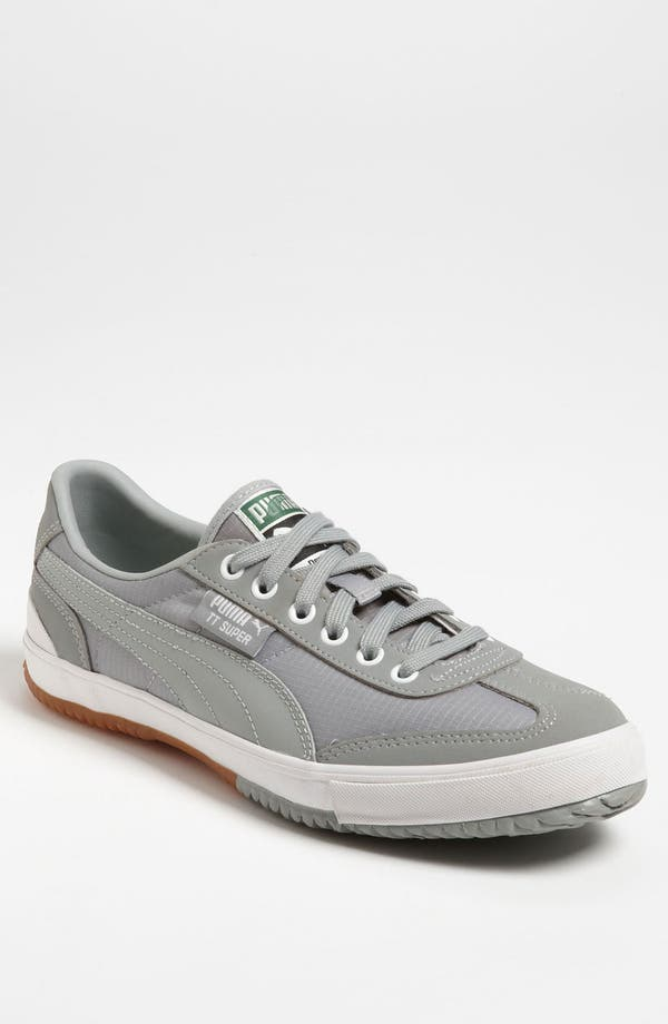 'TT Super Ripstop' Sneaker,                             Main thumbnail 1, color,                             Limestone Gray/ White