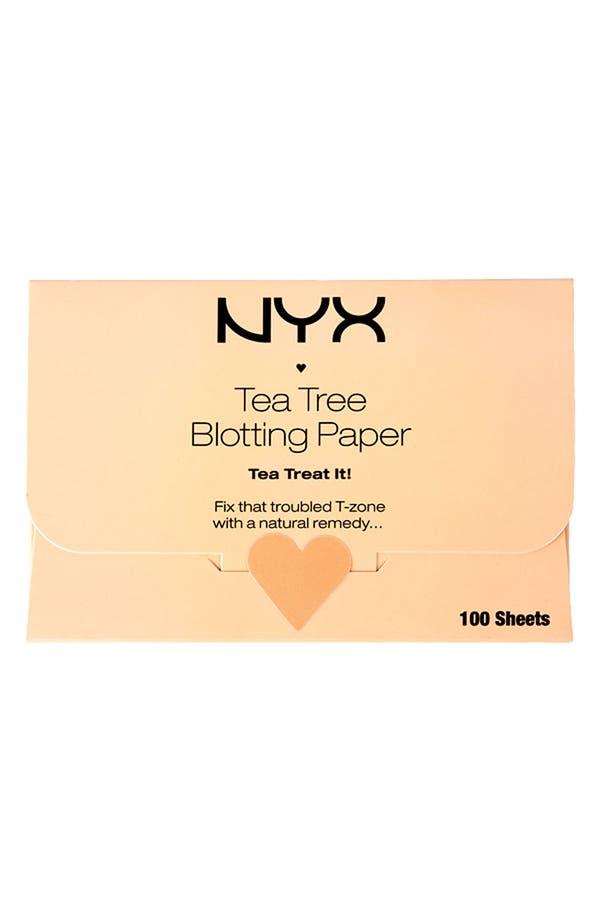 Alternate Image 1 Selected - NYX 'Tea Tree' Blotting Paper