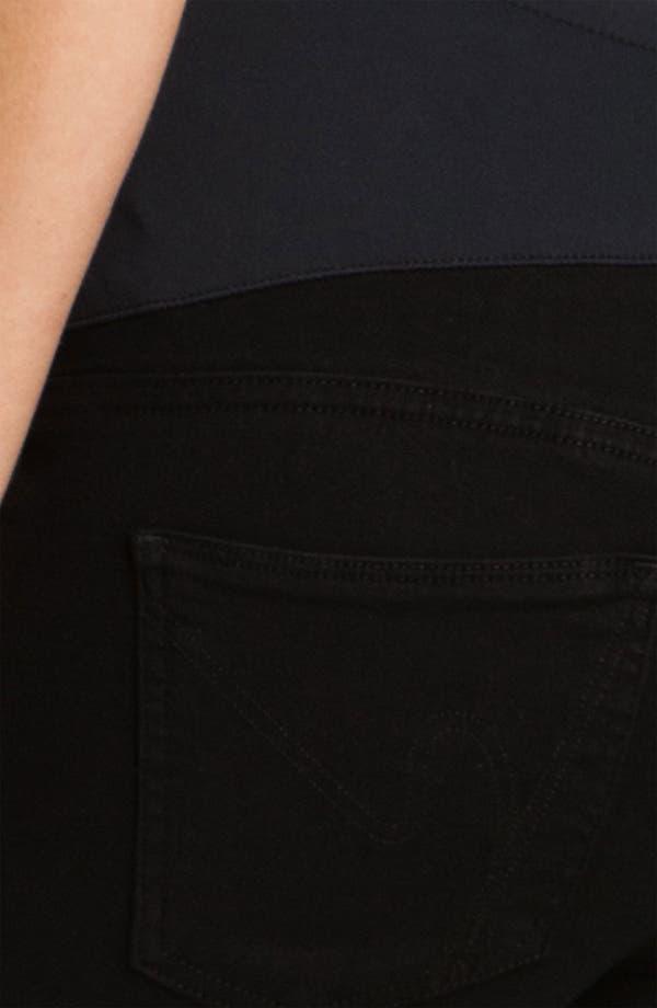 Alternate Image 3  - Citizens of Humanity Maternity Ultra Skinny Stretch Jeans (Star)
