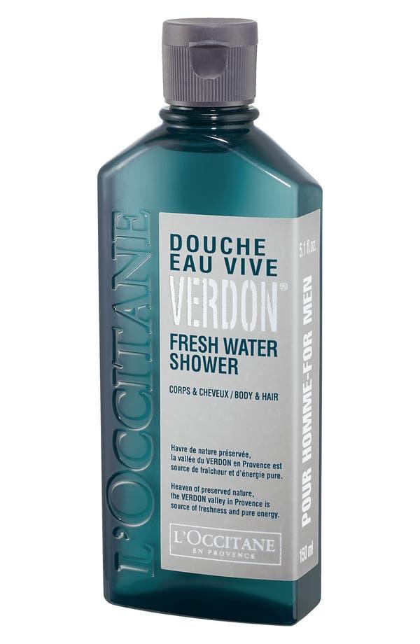 Alternate Image 1 Selected - L'Occitane 'Pour Homme - Verdon®' Fresh Water Shower