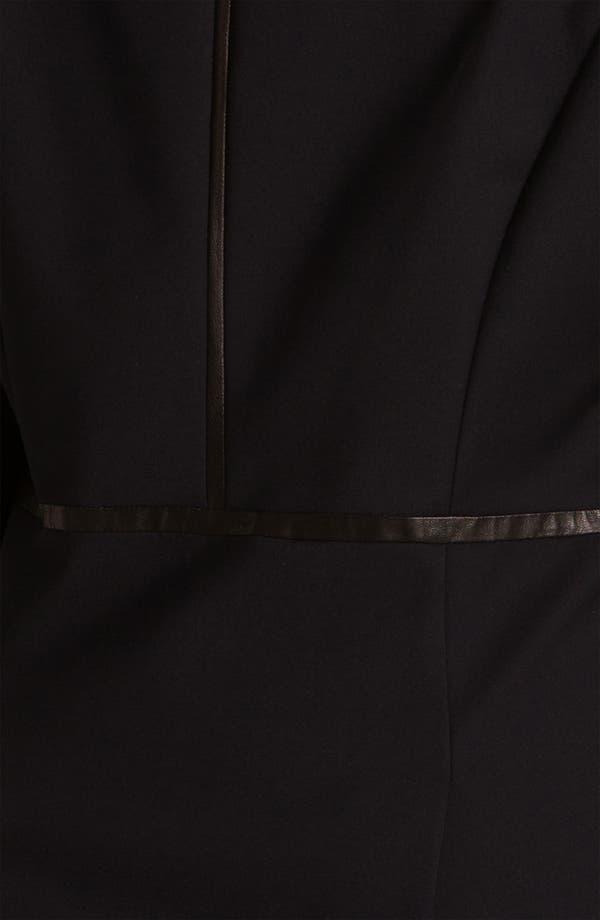 Alternate Image 3  - Kenneth Cole New York 'Riley' Faux Leather Trim Blazer (Plus)
